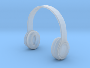 Headphones B-Type - 1/10 in Smooth Fine Detail Plastic
