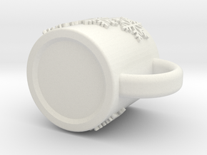 snow cup in White Natural Versatile Plastic