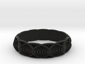 ring in Black Natural Versatile Plastic