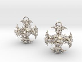 IF Kleinian Earrings in Platinum