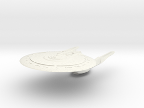 Federation Young Class  Cruiser in White Natural Versatile Plastic