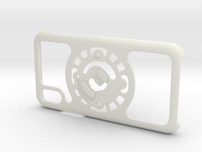for iPhone X : core : CASECASE CLICK in White Premium Versatile Plastic