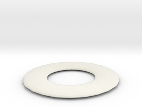 Gasket in White Natural Versatile Plastic