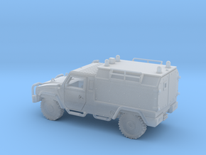 IVECO-LMV-Ambulancia-N in Smooth Fine Detail Plastic