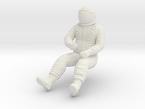 X-15 Pilot 1:72 in White Natural Versatile Plastic