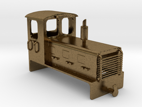 Welsh Highland Rly diesel shunter loco NO.9 in Natural Bronze