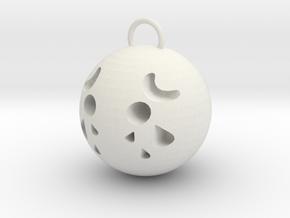 sad in White Natural Versatile Plastic: Small