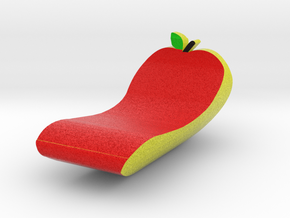 Banana/Apple in Full Color Sandstone