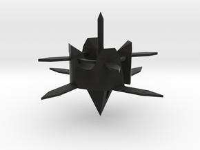 B13 陀螺2Top spinning2 in Black Natural Versatile Plastic