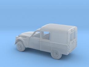 2-CV-TT in Smooth Fine Detail Plastic