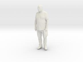 Printle C Homme 073 - 1/30 - wob in White Natural Versatile Plastic