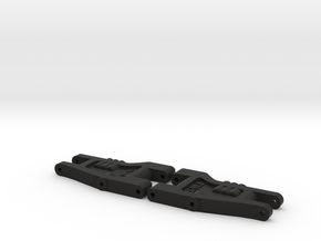 Top Force One-Piece Front Arms in Black Natural Versatile Plastic