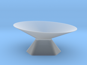 Dish 3 of 4 in Smooth Fine Detail Plastic