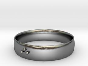 FUN in Polished Silver