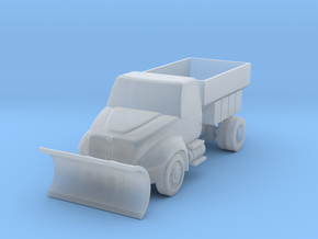 Durastar Salt or Sand Truck - Nscale in Smooth Fine Detail Plastic