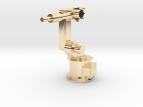 4-Axis Industrial Robot V01 in 14K Yellow Gold