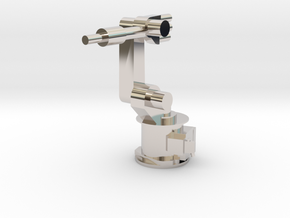 4-Axis Industrial Robot V01 in Platinum