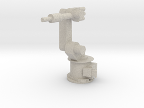 4-Axis Industrial Robot V01 in Natural Sandstone