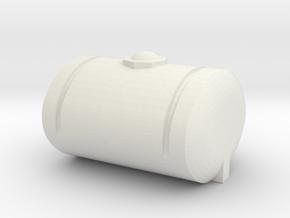 1/64 250 gal tank  in White Natural Versatile Plastic
