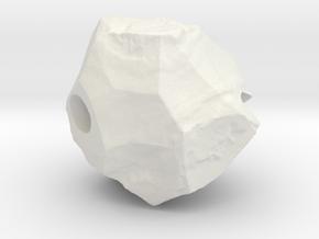 Natural Necessities Pendant Rock A in White Natural Versatile Plastic