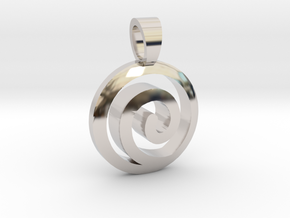 Uzumaki Family [pendant] in Rhodium Plated