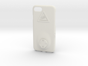 iPhone 7 Wahoo Mount Case - Hill Climb in White Premium Versatile Plastic