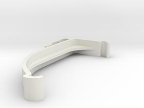 Blind Valance Clip 00178 in White Premium Versatile Plastic
