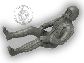 Partial Pressure Suit Pilot / 1:24 in Smoothest Fine Detail Plastic
