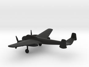 Saab B-18B in Black Natural Versatile Plastic: 1:200
