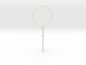 1/11 DKM UBoot VIICDF Aerial Antenna in White Natural Versatile Plastic