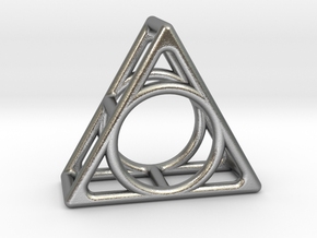 Simply Shapes Rings Triangle in Natural Silver: 3.25 / 44.625