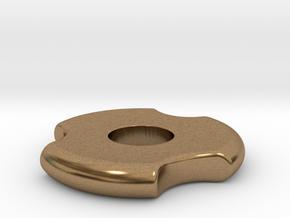 Fidget Spinner in Natural Brass