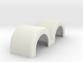 Fenders doublestraight in White Natural Versatile Plastic
