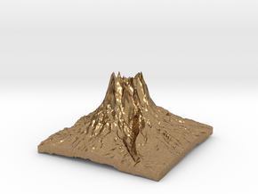 Mountain 3 in Natural Brass: Small