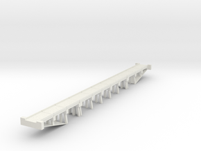 Bridge Concrete N scale in White Natural Versatile Plastic