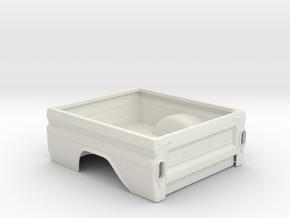 Chevrolet C10 Pritsche 1:10 v01 in White Strong & Flexible: 1:10