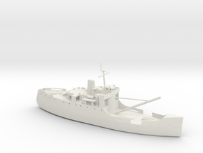 1/285 Scale USCG Planetree WLB-307 180 Foot Cutter in White Natural Versatile Plastic