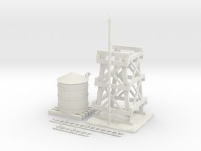 Water Tower Improved in White Strong & Flexible