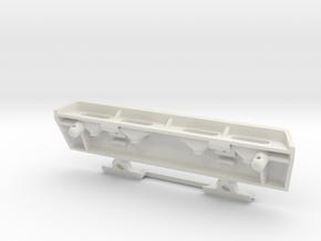 MYK-3GN001 Trophy Truck Tail Light Bar Housing in White Natural Versatile Plastic