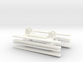 1.5,5 MK82 SNAKEYE BOMB RETARDATER in White Processed Versatile Plastic