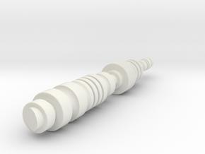 C-3PO Chest Piston V1 in White Natural Versatile Plastic