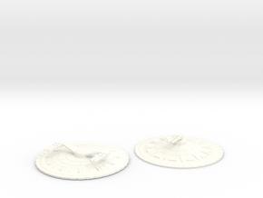 2500 Xorr in White Processed Versatile Plastic