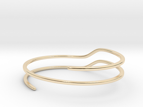 Escalate in 14k Gold Plated Brass