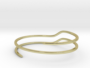 Escalate in 18k Gold Plated Brass