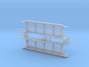 TTn3 Long Tram Coach in Smooth Fine Detail Plastic