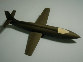 Bell X-1A 1/48 in White Natural Versatile Plastic