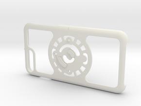 for iPhone 8Plus - 7Plus : core : CASECASE CLICK in White Premium Versatile Plastic