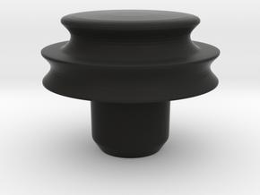conversion pulley for Rega Planar 3 turntable in Black Natural Versatile Plastic