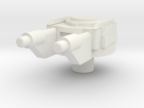 space gun in White Natural Versatile Plastic
