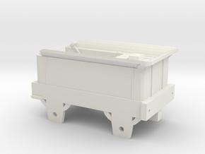 00 Scale Era 1 Bury Tender in White Natural Versatile Plastic